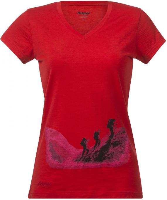 Damen Tur Wool T-Shirt