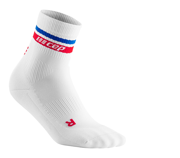 CEP Damen 80s Compression Mid Cut Sportsocken (Limited Collection)