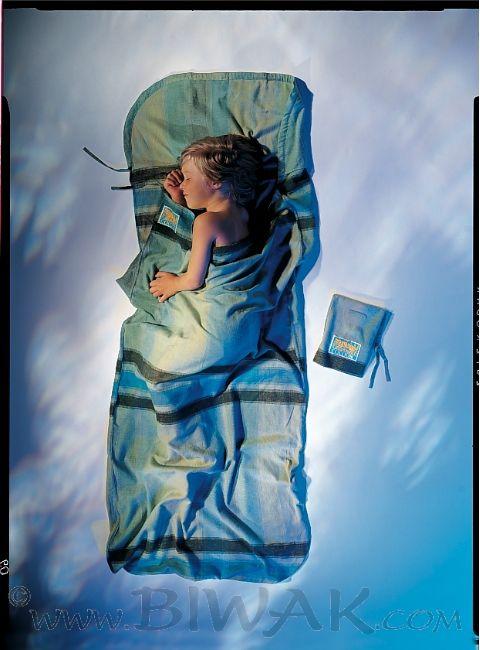 Kinder KidSack BW-Flanell (Kinder / Wärmeleistung 6,7°C / Max. Körpergröße 155 cm / Gewicht 0,35kg)