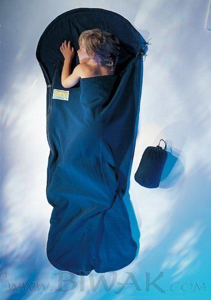 Kinder KidSack Polyester (Kinder / Wärmeleistung 8°C / Max. Körpergröße 155cm / Gewicht 0,58kg)