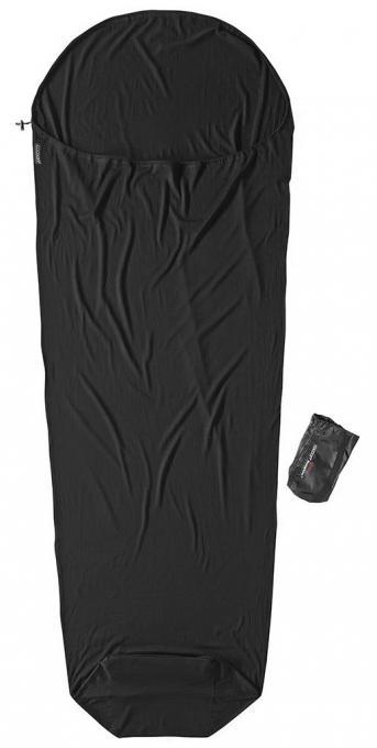 MummyLiner Merinowolle Hüttenschlafsack (Wärmeleistung +7,0°C / max. Körpergröße 190cm / Gewicht 0,495kg)