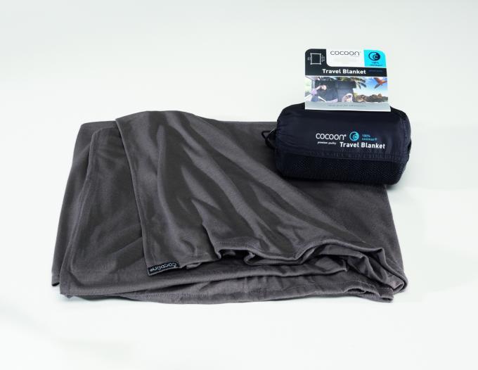 Travel Blanket Coolmax Reisedecke (Maße 180x140cm / Gewicht 0,32kg)
