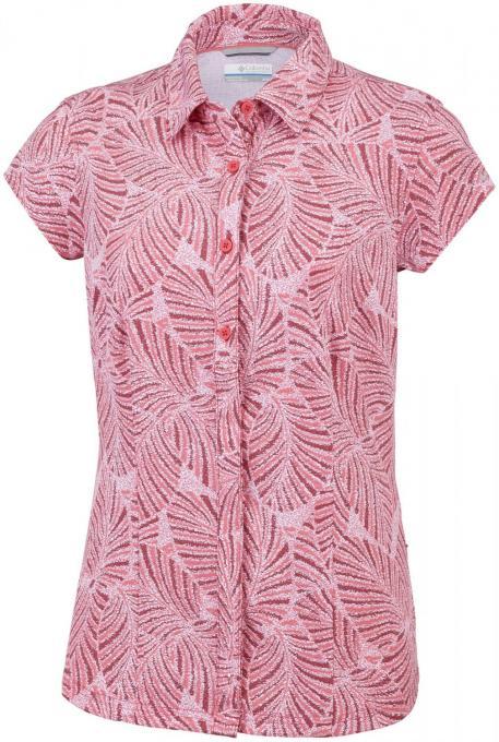Damen Saturday Trail II Stretch Print Shirt