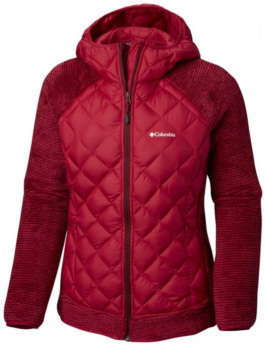 Damen Techy Hybrid Fleece Jacket