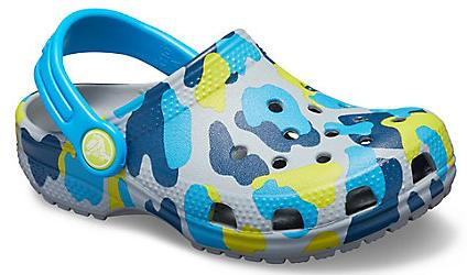 Kinder Classic Seasonal Graphic Clog
