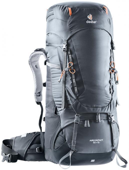 Aircontact 55 + 10 Trekkingrucksack (Volumen 55 + 10 Liter / Gewicht 2,37 kg)