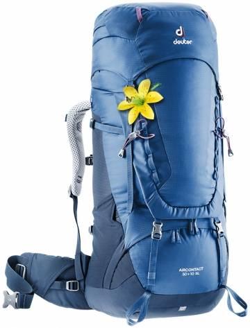 Damen Aircontact 50 + 10 SL Trekkingrucksack (Volumen 50+10 Liter/ Gewicht 2,22kg)