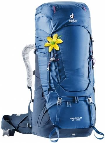 Damen Aircontact 60 + 10 SL Trekkingrucksack (Volumen 60 + 10 Liter/ Gewicht 2,4kg)
