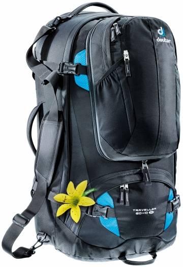 Damen Traveller 60+10 SL Reiserucksack (Volumen 60+10 Liter / Gewicht 3,05kg)