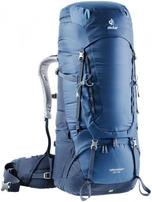 Herren Aircontact 65+10 Trekkingrucksack (Volumen 65+10 Liter / Gewicht 2,9kg)