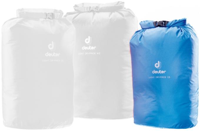 Light Drypack 15 Packsack wasserdicht (Volumen 15 Liter / Gewicht 0,06kg)