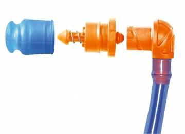 Streamer Tube & Helix Valve Mundstück (Gewicht 0,072kg)