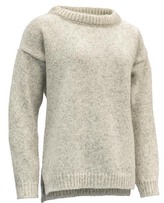 Damen Nansen Split Seam Wollpullover