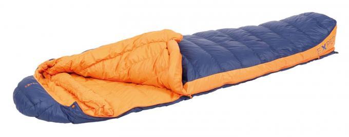 Comfort 0° L links Trekkingschlafsack (Herren bis 0°C / max. Körpergröße 190cm / Gewicht 0,96kg)