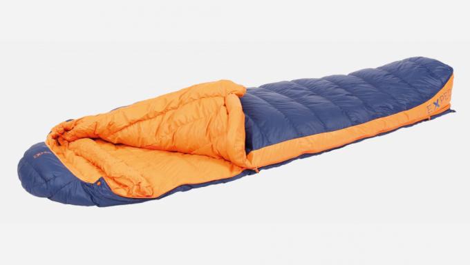 Comfort 0° XL links Trekkingschlafsack (Herren bis 0°C / max. Körpergröße 210cm / Gewicht 1,16kg)
