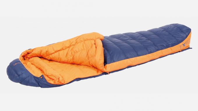 Comfort -4° L links Trekkingschlafsack (Herren bis -4°C / max. Körpergröße 190cm / Gewicht 1,09kg)