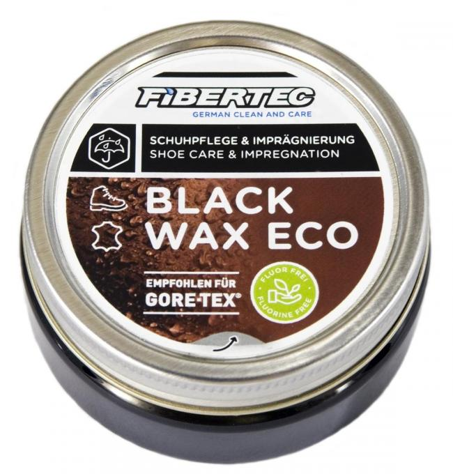 Fibertec Black Wax Eco Schuhpflegewachs 100 ml