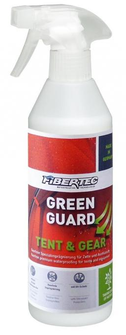 Green Guard Tent and Gear