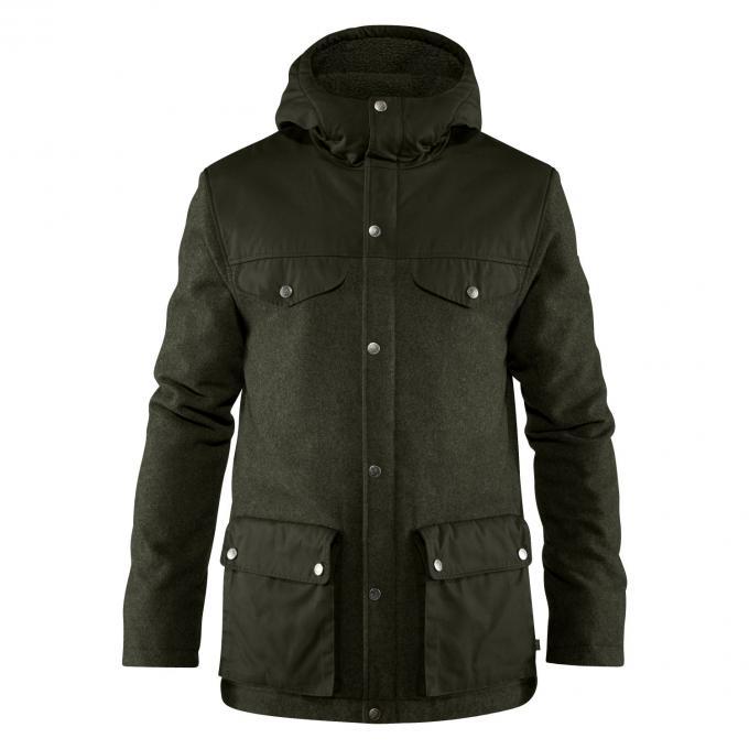 Herren Greenland Re-Wool Jacket