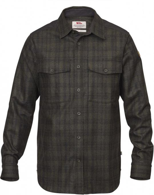 Herren Övik Re-Wool Shirt LS