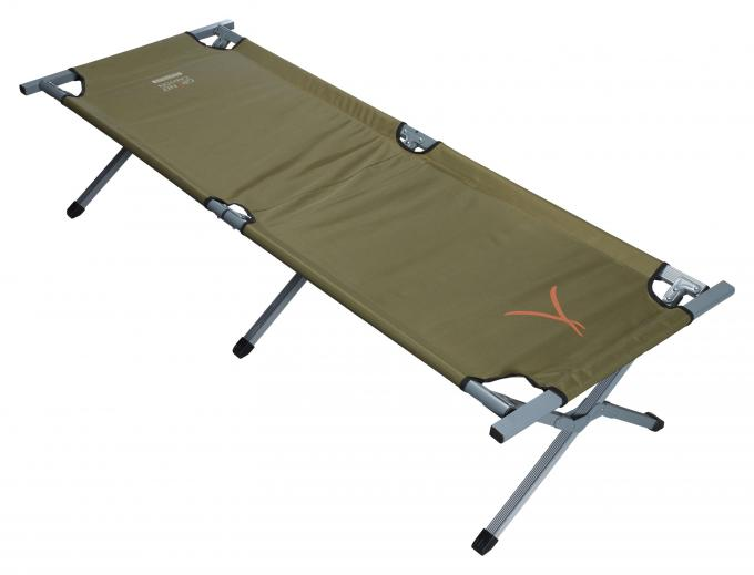 Alu Camping Bed Extra Strong M (190 x 64 x 42 cm)