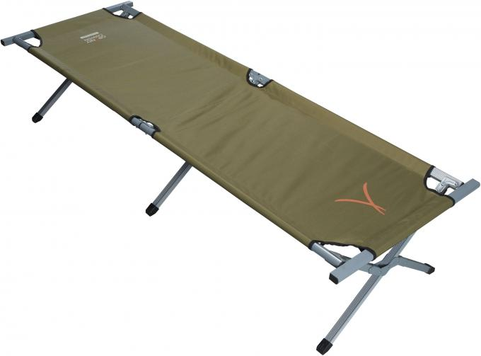 Alu Camping Bed Extra Strong L (210 x 64 x 42 cm)