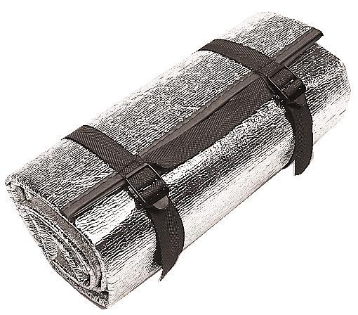 Alu-Isomatte (Maße 190 x 60 x 0,2 cm / Gewicht 0,12kg)