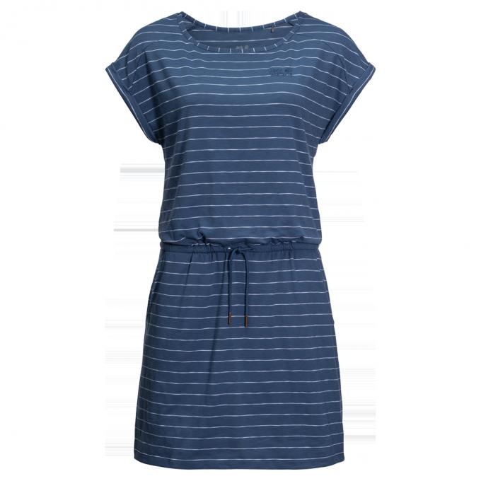 Damen Travel Stiped Dress