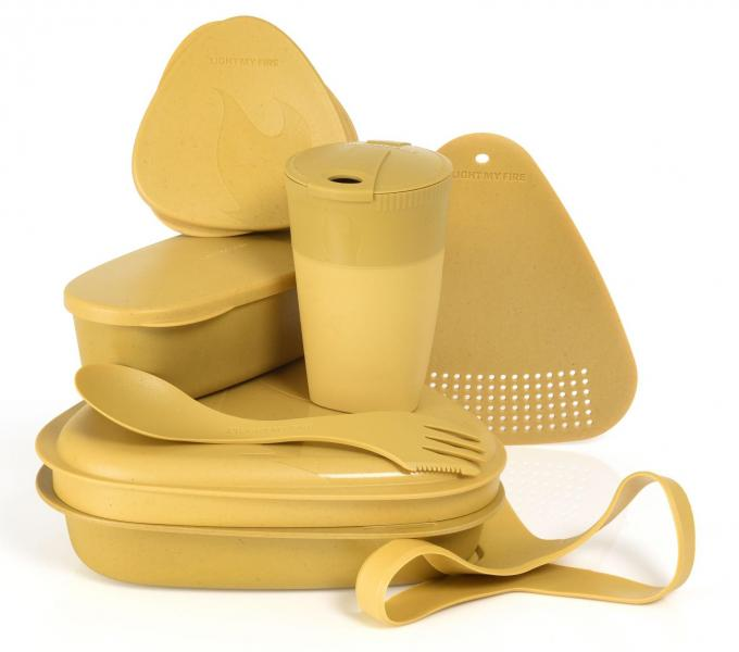 Light My Fire MealKit BIO Geschirrset (8-teilig)