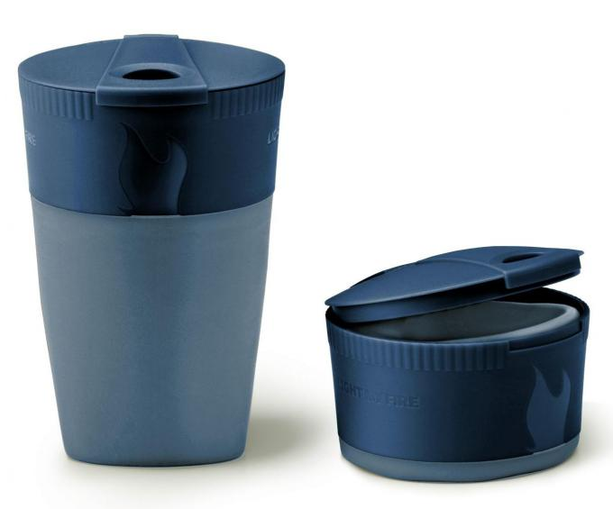 Pack-up-Cup BIO Faltbecher 260 ml (2er Pack Blau+Gelb)