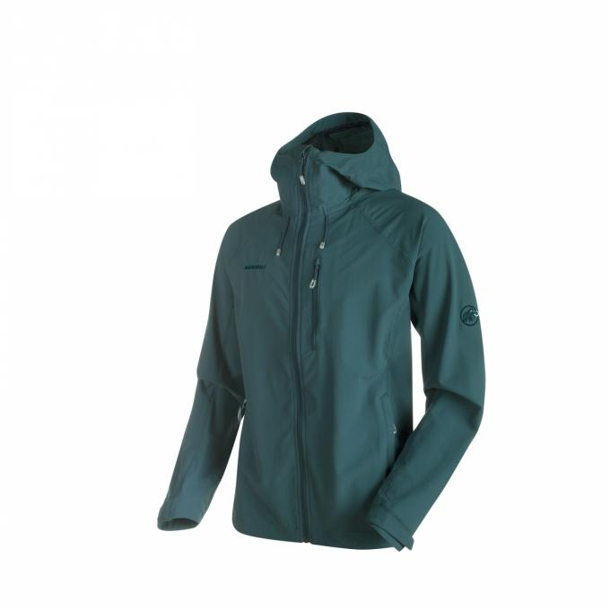 He. Runbold Trail SO Hooded Jacket