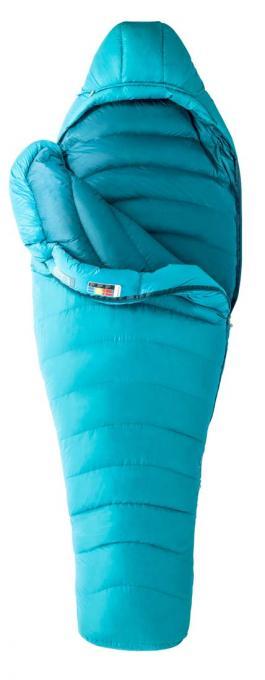 Damen Xenon Daunenschlafsack (Damen bis -12,6°C / Max. Körpergröße 168 cm / Gewicht 1,085kg)