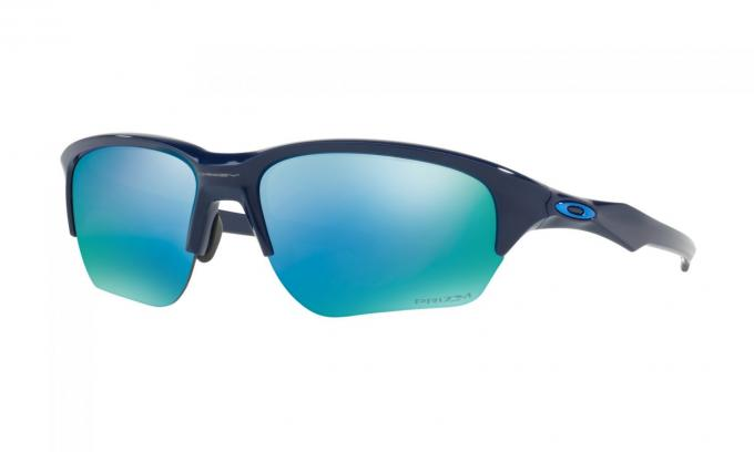 Flak Beta Deep Water Navy Polarized Sportbrille