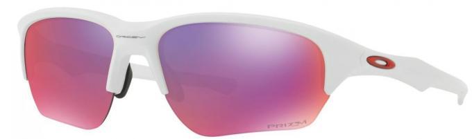 Flak Beta Prizm Road Polished White Sportbrille