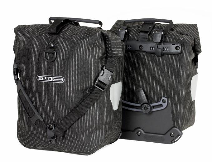 Damen/Herren Sport Roller High Visibility (Volumen 2x12,5 Liter / Gewicht 2x0,72kg)