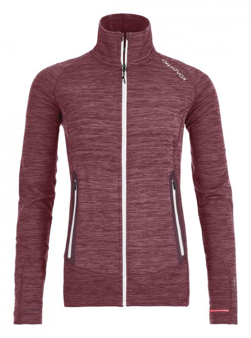 Damen Fleece Light Melange Jacket