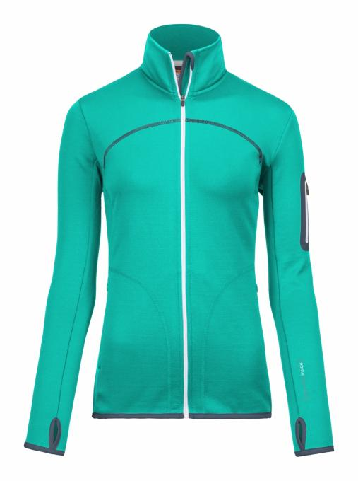 Damen Merino Fleece Jacket