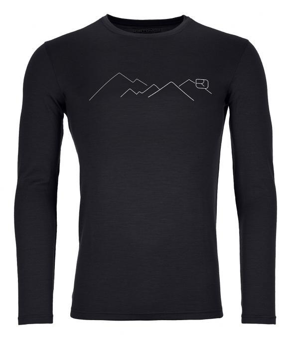 Ortovox Herren 185 Merino Mountain Langarmshirt