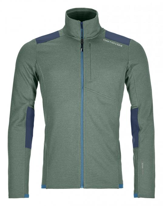 Herren Fleece Light Grid Jacket