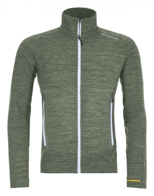 Herren Fleece Light Melange Jacket