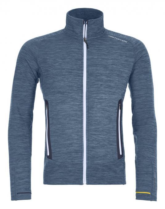 Herren Fleece Light Melange Jacket
