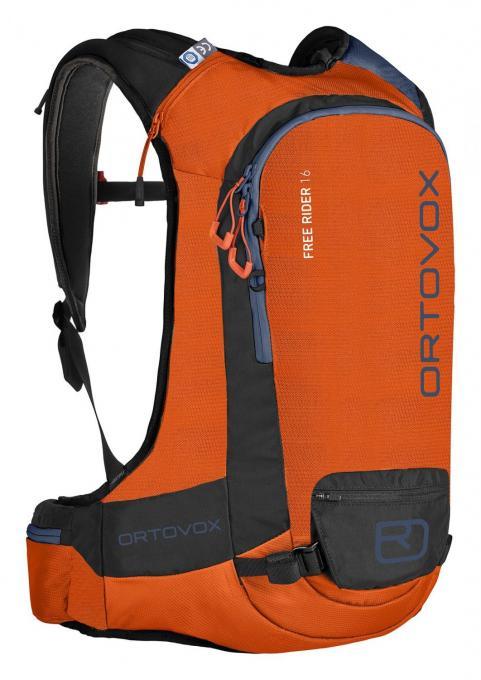 Herren Free Rider 16 regular (Alpinrucksack (Volumen 16 Liter / Gewicht 1,18kg / geeignet für Rückenlängen von 42-50cm)