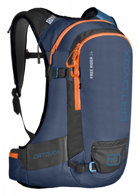 Herren Free Rider 24 Alpinrucksack (Volumen 24 Liter / Gewicht 1,28kg / geeignet für Rückenlängen von 42-50cm)