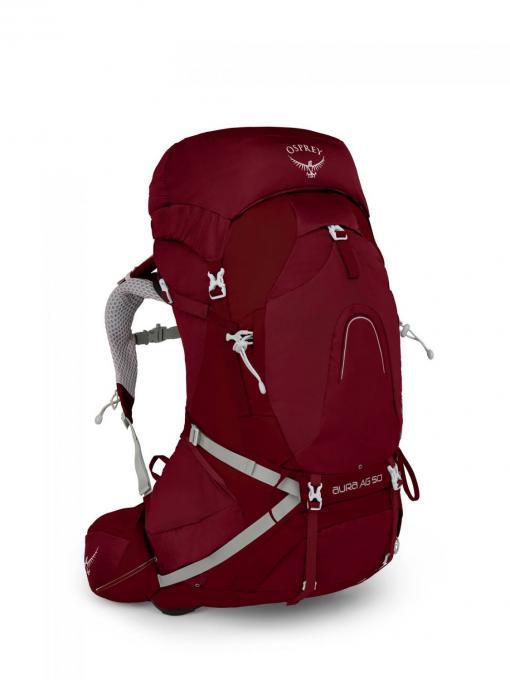 Damen Aura AG 50 WM Trekkingrucksack (Volumen 50 Liter / Gewicht 2,011kg)