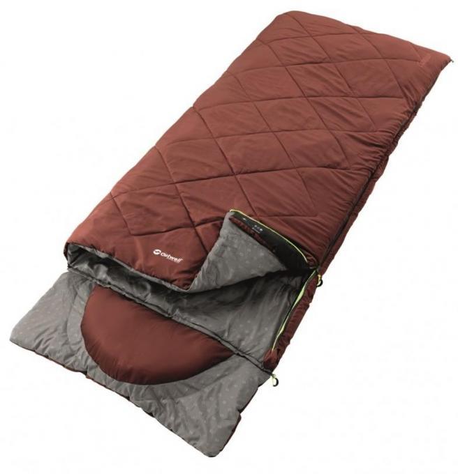 Contour Schlafsack (Herren bis 2°C / max. Körpergröße 190cm / Gewicht 1,6kg)