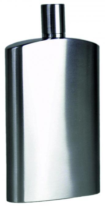 BasicNature Flachmann Brush 125ml breit
