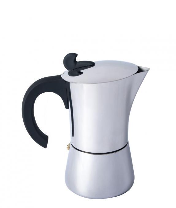 Espresso Maker Edelstahl 4 Tassen
