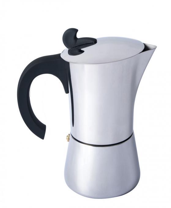 Espresso Maker Edelstahl 6 Tassen