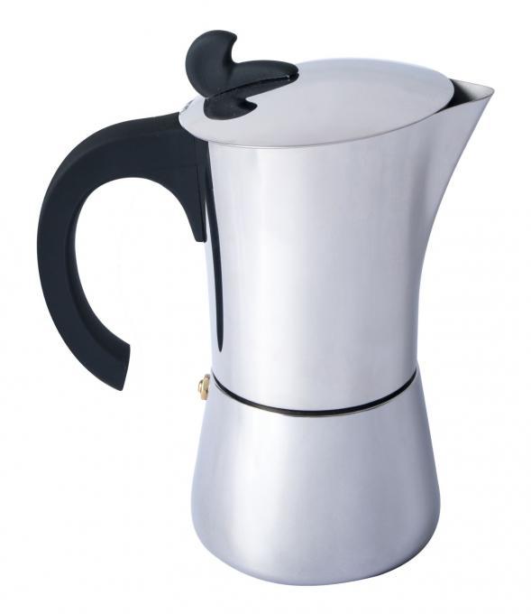 Espresso Maker Edelstahl 9 Tassen