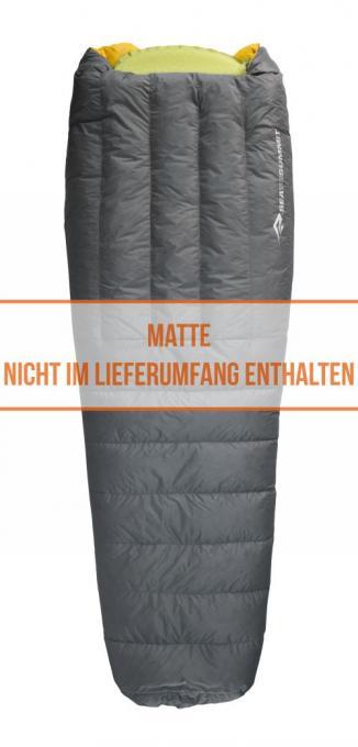 Ember EBII Regular (Herren bis 2°C / max. Liegelänge 179cm / Gewicht 0.56kg)